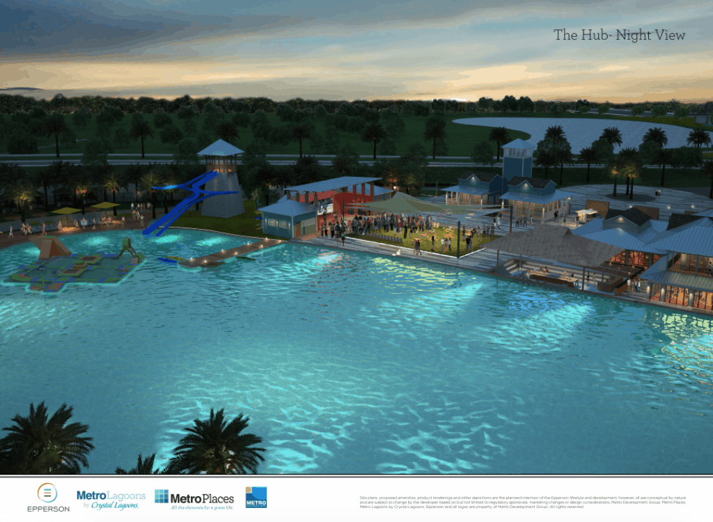 Metro brings first Crystal Lagoon to Pasco County